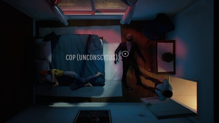 Вы можете обыскать и связать его своими лентами - этот метод не очень эффективен, потому что грабитель быстро проснется и освободится - 12 минут: Полицейский - как бороться?  - FAQ - 12-минутное руководство по игре