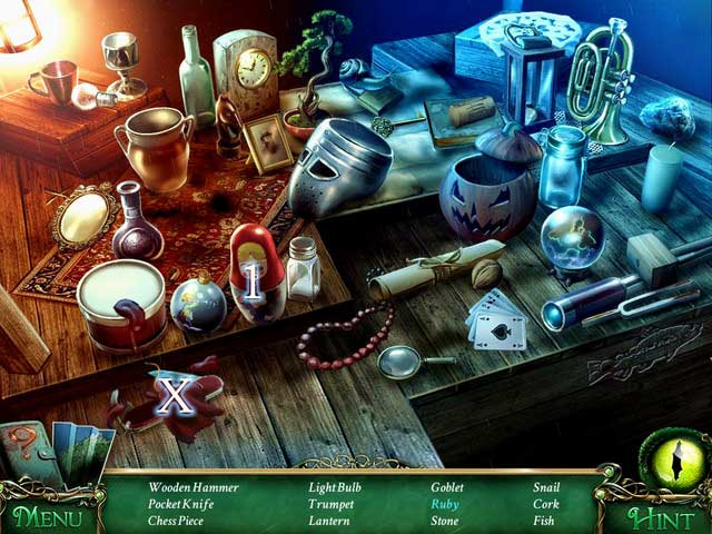 Hidden-object scenes | Collectibles and puzzles - 9 Clues ...