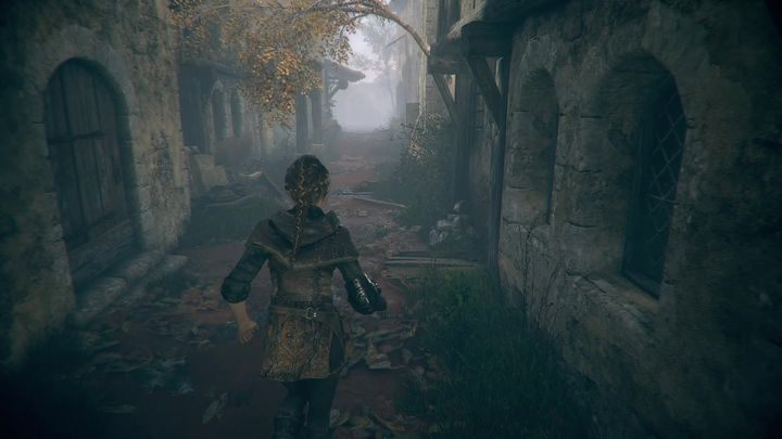 After this conversation, you will find yourself in a pit - Chapter XIII - Penance | A Plague Tale walkthrough - Walkthrough - A Plague Tale Guide