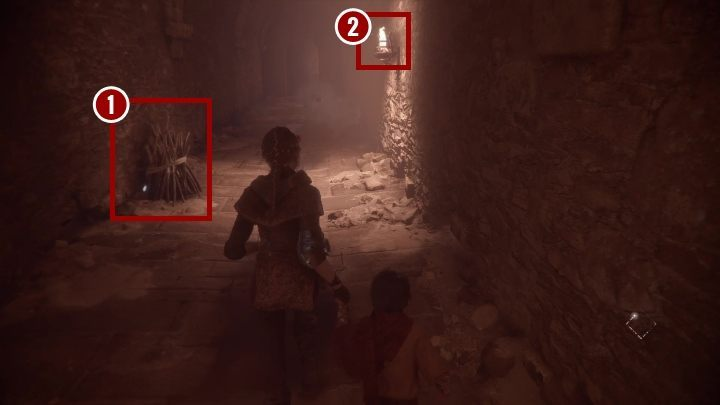 Unfortunately, the way to the crypt is blocked by rats - Chapter III - Retribution | A Plague Tale walkthrough - Walkthrough - A Plague Tale Guide