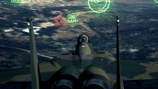 The right strategy is to fly over the target, turn and attack from a convenient side. - Why missiles dont hit the target despite full targeting? - Air combat - Ace Combat 7 Skies Unknown Guide