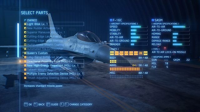 Starting Tips For Ace Combat 7 Ace Combat 7 Skies Unknown Guide Gamepressure Com