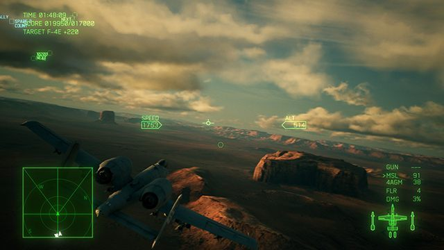 In the standard mode, your aircraft will only tilt slightly to a side. You cant do a full barrel roll. - The differences between standard and expert handling modes in Ace Combat 7 - For beginners - Ace Combat 7 Skies Unknown Guide