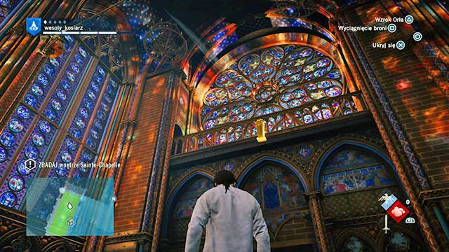 sainte chapelle assassins creed unity map