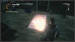 Next page lies on the front porch of the cabin, on a carpet - Manuscript - Episode 4: The Truth - Manuscript - Alan Wake - Game Guide and Walkthrough