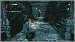 Next page is on a stone fence in the garden - Manuscript - Episode 4: The Truth - Manuscript - Alan Wake - Game Guide and Walkthrough