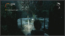 Next sheet lies in the maze, next to a tree - Manuscript - Episode 4: The Truth - Manuscript - Alan Wake - Game Guide and Walkthrough