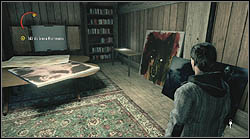 Another page is in the room with Hartman's recordings, you can find this place on your way to his office - Manuscript - Episode 4: The Truth - Manuscript - Alan Wake - Game Guide and Walkthrough