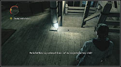 The next sheet lies next to stairs, you'll find it on your way to the keys and an unconscious nurse - Manuscript - Episode 4: The Truth - Manuscript - Alan Wake - Game Guide and Walkthrough