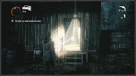 Push the cart into abyss, then jump over that abyss in order to get to the next part of this level - Walkthrough - Episode 6: Departure - Walkthrough - Alan Wake - Game Guide and Walkthrough