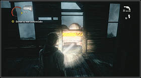 Push the cart nearby and search the building you will automatically enter - Walkthrough - Episode 6: Departure - Walkthrough - Alan Wake - Game Guide and Walkthrough