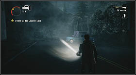 Get in the car located inside the garage - Walkthrough - Episode 6: Departure - Walkthrough - Alan Wake - Game Guide and Walkthrough