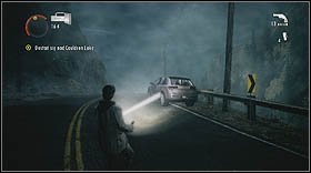 Suddenly, the day will turn into night, and a pack of enemies will show up in front of you - Walkthrough - Episode 6: Departure - Walkthrough - Alan Wake - Game Guide and Walkthrough