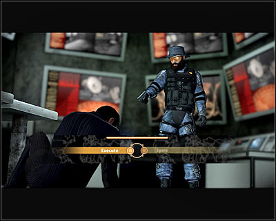 After you get inside, start shooting at Leland, who won't be able to counter your attacks - Walkthrough - The finale - Infiltrate Alpha Protocol - Walkthrough - The finale - Alpha Protocol: The Espionage RPG - Game Guide and Walkthrough