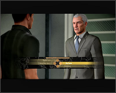 On your way to the clinic you can bump into Conrad Marburg, of course assuming you haven't killed him during the last mission in Rome - Walkthrough - The finale - Infiltrate Alpha Protocol - Walkthrough - The finale - Alpha Protocol: The Espionage RPG - Game Guide and Walkthrough