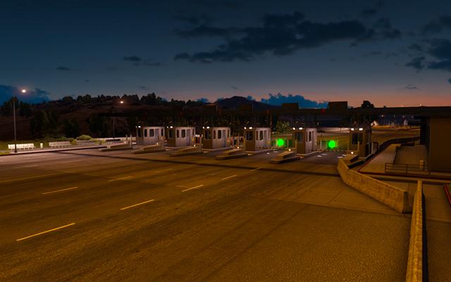 Gates, traffic jams, balances | Game world - American Truck