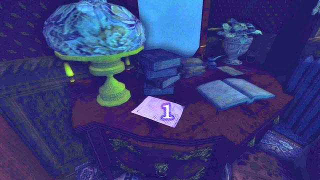 Puedes encontrar la primera nota al principio del juego, en el escritorio a la derecha de la cama [1] (24 de junio de 1899) - The Residence - Part One   Collectibles - Collectibles - Amnesia: Una máquina para los cerdos