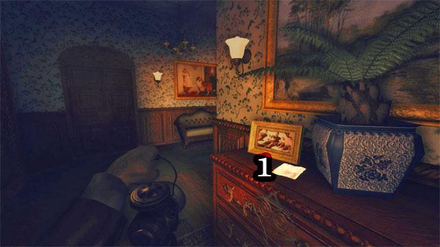 La siguiente está en el pasillo, cerca de la habitación con la mesa de billar - The Residence - Part Two   Collectibles - Collectibles - Amnesia: Una máquina para los cerdos