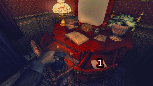 Encuentra la última nota después de salir del baño, donde ha encontrado un pasaje secreto a una de las válvulas - The Residence - Part Two   Collectibles - Collectibles - Amnesia: Una máquina para los cerdos