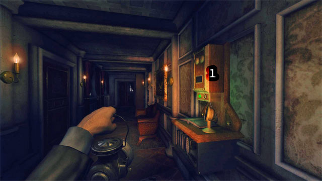 Es en el corredor rthe, más allá de la habitación con la mesa de billar [1] - La Residencia - Segunda Parte   Collectibles - Collectibles - Amnesia: Una máquina para los cerdos