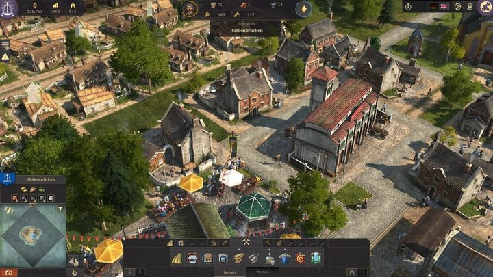 The answer to this question is rather simple - you need to construct more buildings and increase the population of your rapidly growing society - How to unlock more buildings and social classes in Anno 1800? - FAQ - Anno 1800 Game Guide
