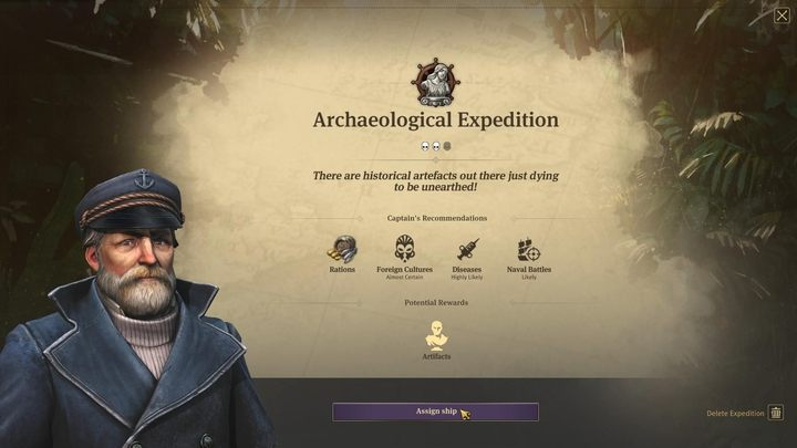 Expeditions - Anno 1800 - important new features - Basics - Anno 1800 Game Guide