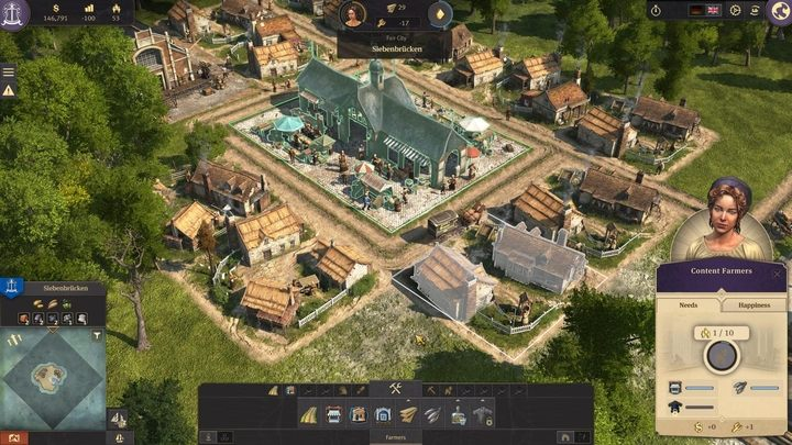 The first stage of the gameplay is easy - 5 steps to build an epic empire in Anno 1800 - City management - Anno 1800 Game Guide