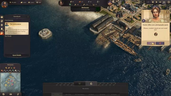 Side missions are an interesting new feature - Side missions in Anno 1800 - Basics - Anno 1800 Game Guide