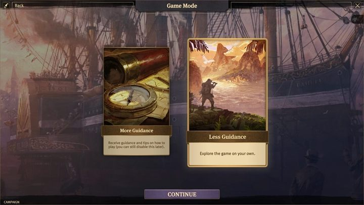 You can choose whether you want the game to tell you some things or whether you want to play without any tips - Scenario customization in Anno 1800 - Basics - Anno 1800 Game Guide