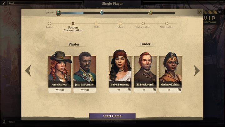 In addition to the basic difficulty level, we can run advanced options, which will allow you to customize virtually every aspect of the gameplay according to your preferences - Scenario customization in Anno 1800 - Basics - Anno 1800 Game Guide