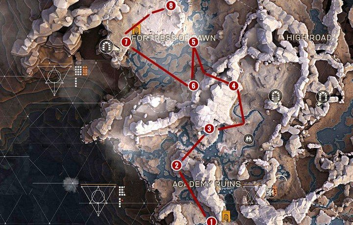 Path 1 - Anthem Map - interesting locations, districts, hidden places, farming - Basics - Anthem Guide
