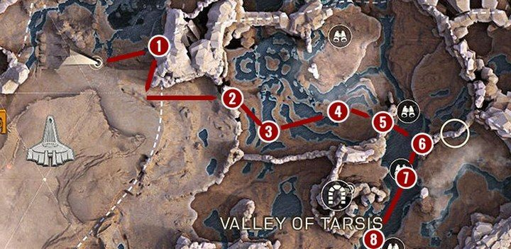 Path 2 - Anthem Map - interesting locations, districts, hidden places, farming - Basics - Anthem Guide