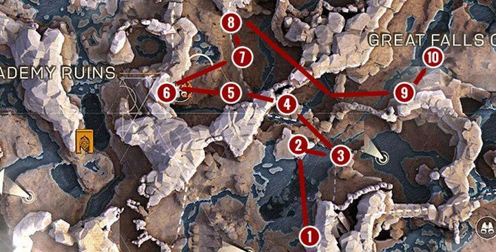 Path 3 - Anthem Map - interesting locations, districts, hidden places, farming - Basics - Anthem Guide