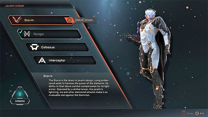 In Anthem, there are four main types of exosuits available - Anthem Guide