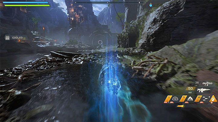 The second technique is to fly at the low altitude above the water, thanks to which the thrusters can be cooled down - How to extend the flight time in Anthem? - FAQ - Anthem Guide
