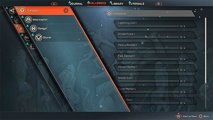 Trophy type: bronze - Trophy guide and achievements list in Anthem - Trophy guide - Anthem Guide