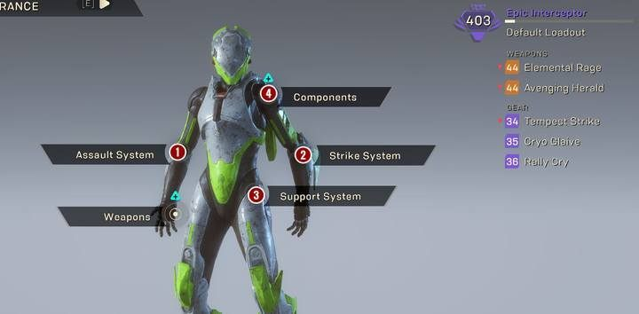 Interceptor Class Javelin In Anthem Anthem Guide Gamepressure Com