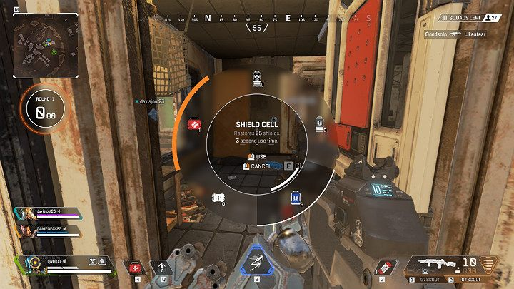 In Apex Legends, armor is found in random locations around the map - Interface in Apex Legends - Starting tips - Apex Legends Guide