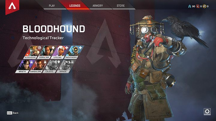 If you are an offensive player, like to chase opponents and be in the center of the action, consider choosing professional soldiers such as Bangalore or Bloodhound - Starting tips for Apex Legends - Starting tips - Apex Legends Guide
