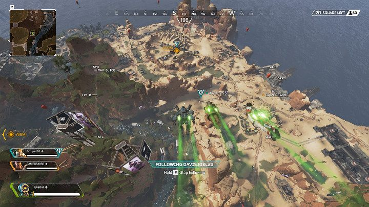 Apex Legends contains a very interesting landing system - Starting tips for Apex Legends - Starting tips - Apex Legends Guide