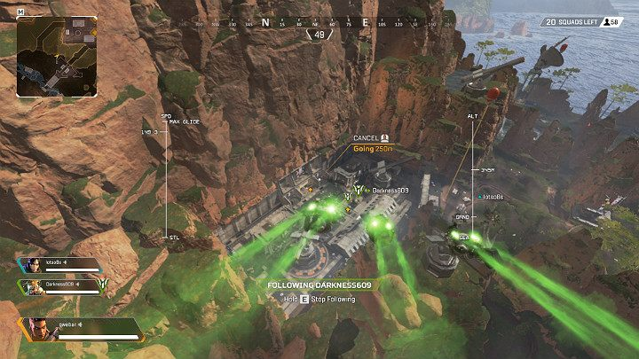 The best items are found in military outposts and special transports that land from time to time in random locations around the map - Starting tips for Apex Legends - Starting tips - Apex Legends Guide