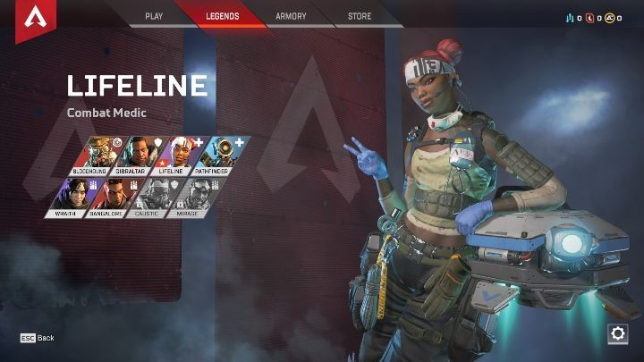 Currently, the game offers eight characters - Starting tips for Apex Legends - Starting tips - Apex Legends Guide