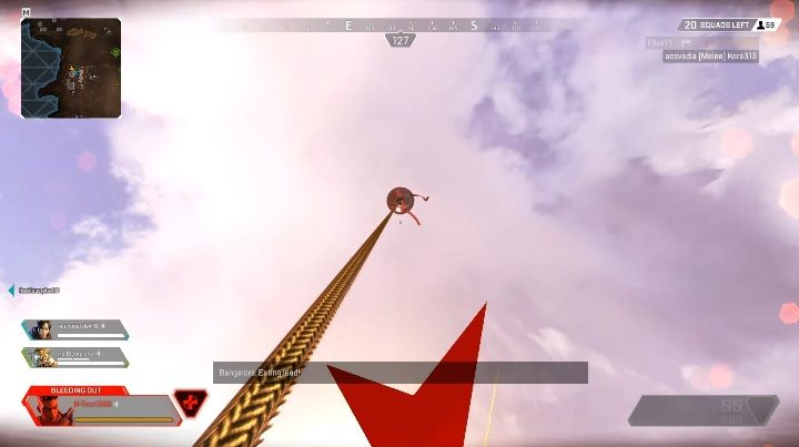 Remember that you are exposed to attacks from all enemies in the area while climbing - What are the Red Balloons used for in Apex Legends? - FAQ - Apex Legends Guide