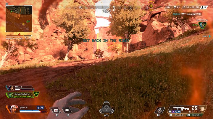 The ever-closing Ring not only makes the gameplay more difficult and forces the players to move the battle into the given location, but can also lead to the death of your hero - Things you should NOT do in Apex Legends - Starting tips - Apex Legends Guide