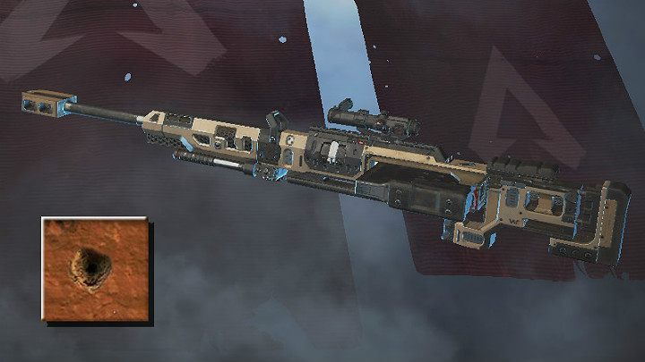 Following its purpose, sniper rifles fire single shots, enabling the player to correct the crosshairs before firing another shot - Sniper rifles in Apex Legends - Weapons - Apex Legends Guide