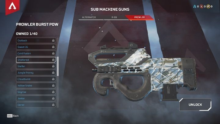 In the game, you will find three machine guns - ALTERNATOR, R-99, and PROWLER - The best weapons in Apex Legends - Starting tips - Apex Legends Guide