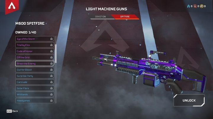 At the moment there are only two machine guns in the game - The best weapons in Apex Legends - Starting tips - Apex Legends Guide