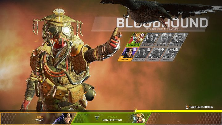 Bloodhound is a very versatile hero, whose skills will come in handy in almost every team - Bloodhound - Technological Tracker | Heroes Apex Legends - Legends - Apex Legends Guide