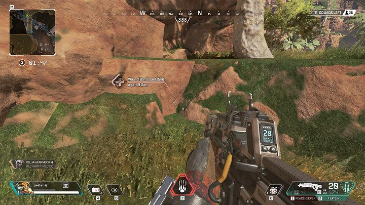 Thanks to his passive ability, Bloodhound can notice tracks left by the enemy - Bloodhound - Technological Tracker | Heroes Apex Legends - Legends - Apex Legends Guide
