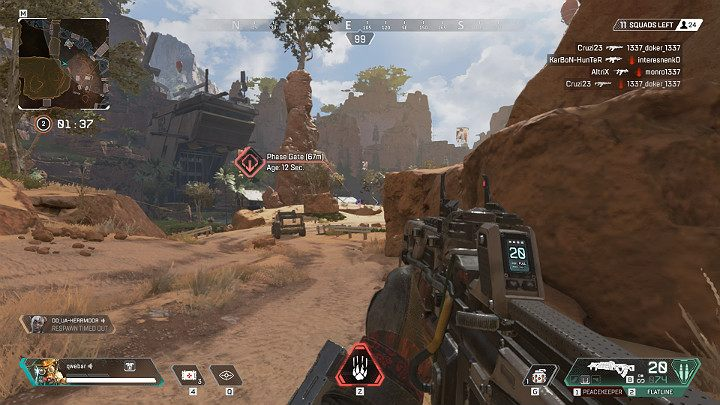 Thanks to his tactical ability Bloodhound can receive a lot of useful data, e - Bloodhound - Technological Tracker | Heroes Apex Legends - Legends - Apex Legends Guide